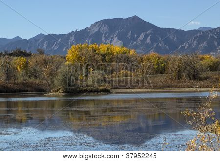 Autumn View in Boulder Colorado