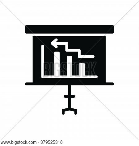 Black Solid Icon For Diagram Blueprint Chart Description Presentation Perspective Representation Lay