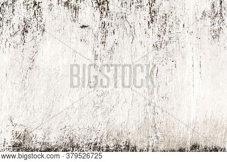 Old, Damaged Black And White Wall Texture.
