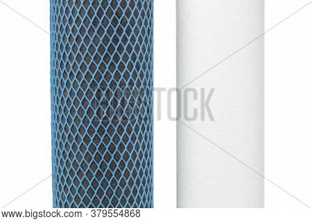 Elements Of The Filter For Water Purification, Thin Water Purification From Harmful Impurities.