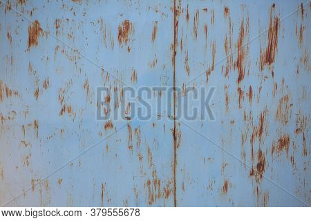 Rusty Iron Sheet Texture. The Background. Place For Text. Rusted Metal Texture, Rust And Oxidized Me