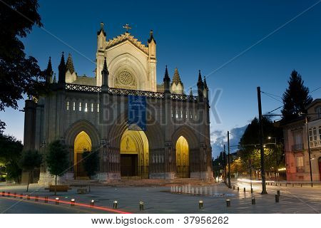 Cathedral Of Vitoria, Alava, Basque Country, Spain
