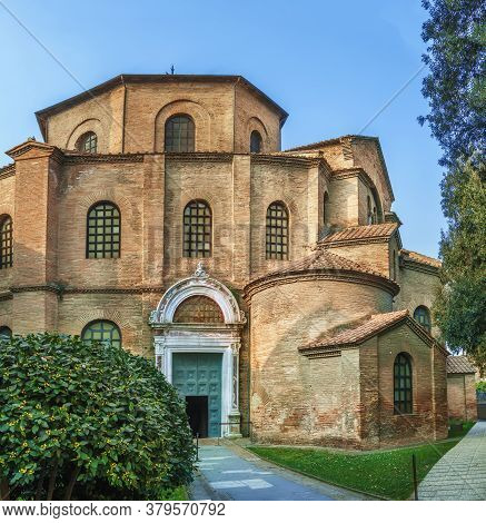 The Basilica Of San Vitale Is A Church In Ravenna, Italy, And One Of The Most Important Examples Of
