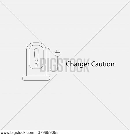 Bev,ev,battery Electric Vehicle Icon.electric Car Icon And Charger Station. Battery Power Plug.home