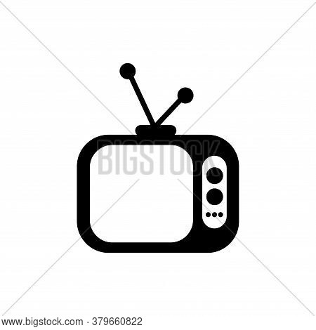 Television Icon Vector. Television Icon Isolated On White Background. Television Icon Simple And Mod