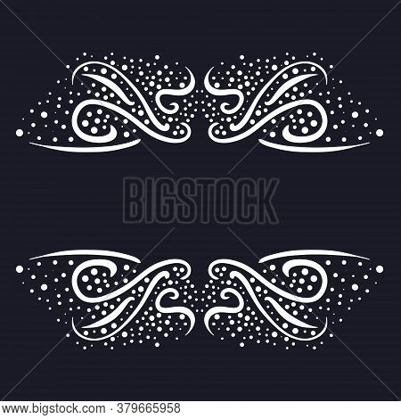 A Beautiful Monogram Frame With Stars Will Adorn The Site Header Or Header