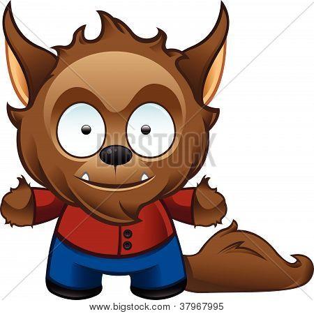 Werewolf Monster - Happy.eps