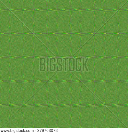 Textile Pattern Design, Green And Yellow Textile Pattern Design, Abstract Background With White Dot