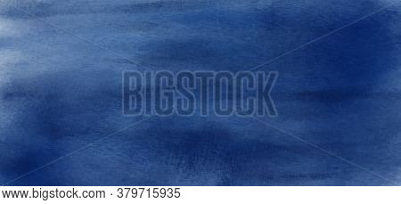 Abstract Blue Azure Watercolor For Textures Background. Stain Artistic Vector Used As Being An Eleme