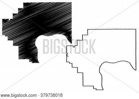 Jefferson County, Indiana (u.s. County, United States Of America, Usa, U.s., Us) Map Vector Illustra