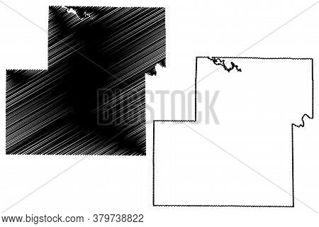 Owen County, Indiana (u.s. County, United States Of America, Usa, U.s., Us) Map Vector Illustration,