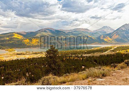 Autumn Colors In Twin Lakes, Colorado