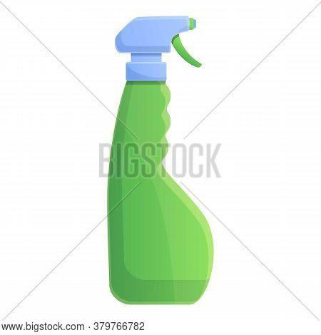 Disinfection Spray Bottle Icon. Cartoon Of Disinfection Spray Bottle Vector Icon For Web Design Isol