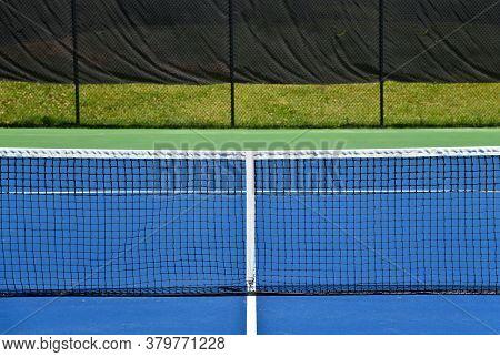 Empty Tennis Courts During Coronavirus Pandemic
