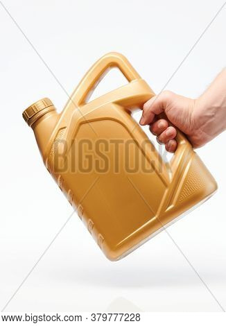 Yellow Canister For Oil