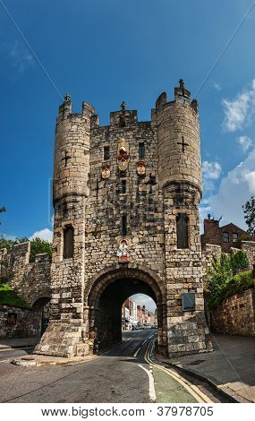 Town Gate, York, England