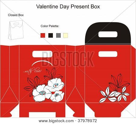 Design for gift box.