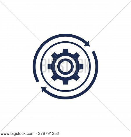 Operation, Operational Integration Icon, Vector, Eps 10 File, Easy To Edit
