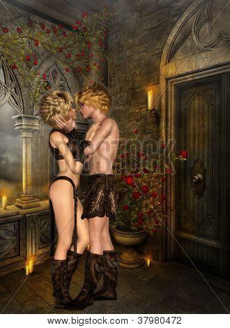 Elves First Kiss