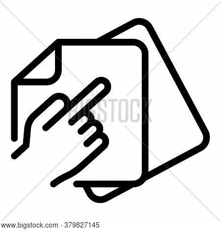Refer Restructuring Icon. Outline Refer Restructuring Vector Icon For Web Design Isolated On White B