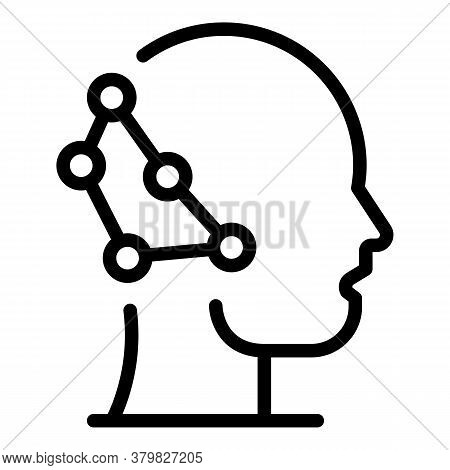 Neuro Restructuring Icon. Outline Neuro Restructuring Vector Icon For Web Design Isolated On White B