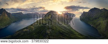 Vast Landscapes, Deep And Mystic Oceans And Colourful Skies For Amazing And Attractive Background. L