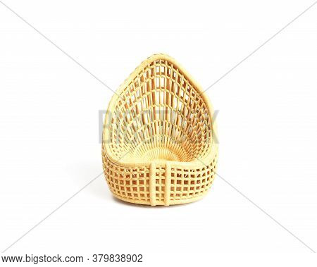 3d Render Of An Emplty Basket Collecting, Safe, Keeping, Basket, Decoration, Wicker