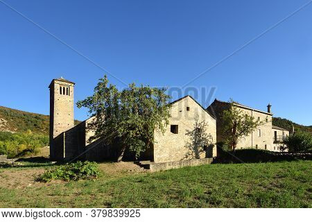 View Of The Romanesque And Mozarabic Church Of San Pedro De Larrede (inclouded Of The Route Of The R