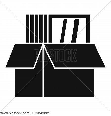 Windows Installation Box Icon. Simple Illustration Of Windows Installation Box Vector Icon For Web D