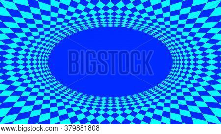 Geometric Art Abstract Blue For Background, Art Line Light Blue Spiral Optical For Hypnotic Wallpape