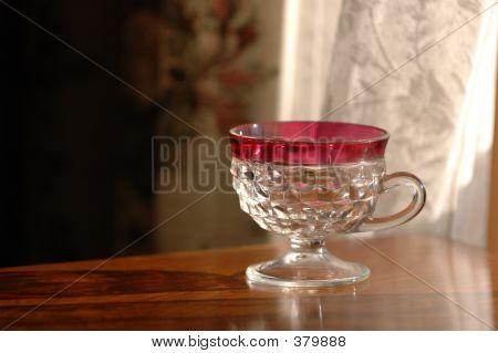 Empty Punch Glass