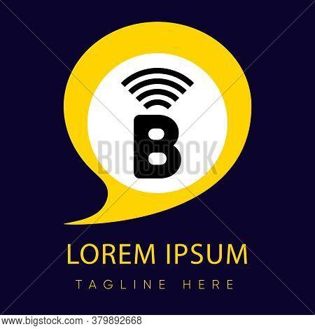 Illustration Vector Graphic Of Letter B Logo. Initial Letter B Logo Design Concept. Vector For Compa