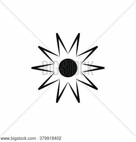 Illustration Vector Graphic Of Sun Icon