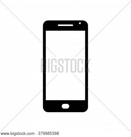 Mobile Phone Icon. Web Design Sign And Infographic Element. Isolated Vector Image In Flat Style