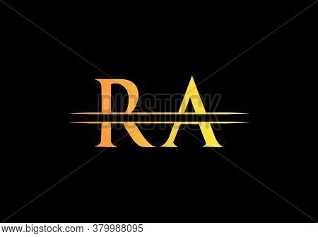 Ra Logo For Luxury Branding. Elegant And Stylish Design For Your Company