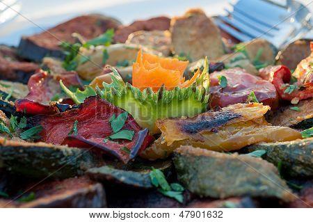 Grilled Vegetables Wedding Banquet
