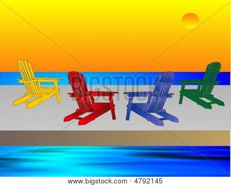 Adirondack Chairs Awaiting You...