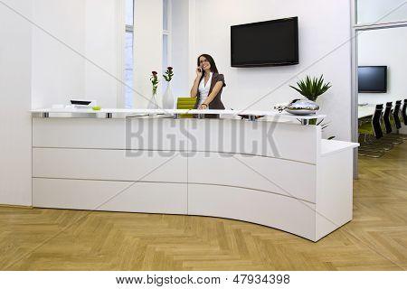 Front Desk Lady
