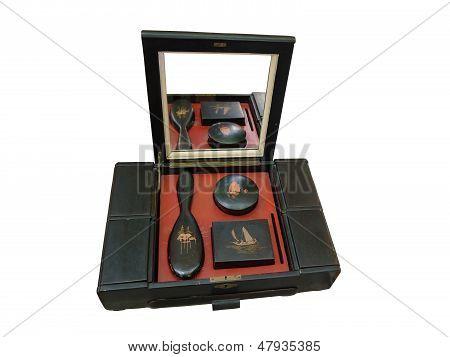an old oriental beauty box.