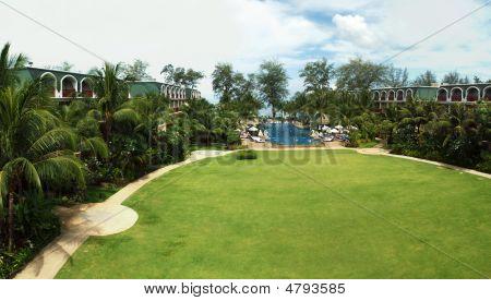Phuket Graceland Hotel View