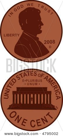 Illustrated Us Penny