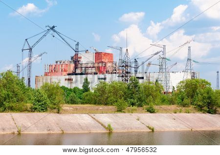 Chernobyl Nuclear Power Station Incompleted Part