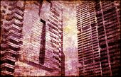 Crime and Moral Decay Buildings as Background poster
