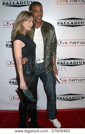 Ellen Pompeo and husband Chris  at the Grand Reopening of The Hollywood Palladium. Hollywood Palladium, Hollywood, CA. 10-15-08