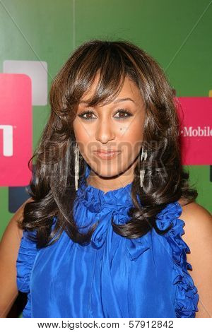 Tamera Mowry  at the T-Mobile G1 Launch Party. Siren Studios, Hollywood, CA. 10-17-08