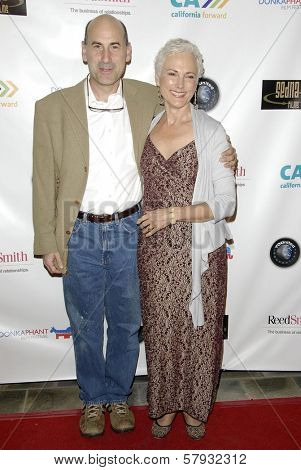 James Eckhouse and wife Sheila  at the 2008 Donkaphant Film Festival, Skirball Cultural Center, Los Angeles, CA. 10-29-08
