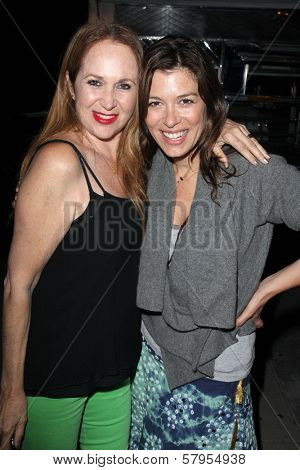 Jenise Blanc, Caitlin Keats at the wrap party for the upcoming