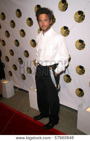 Justin Chatwin  at the 5th Annual Friends of El Faro Benefit to raise funds for the children of Tijuana Casa Hogar Sion Orphanage. Boulevard3, Hollywood, CA. 08-07-08