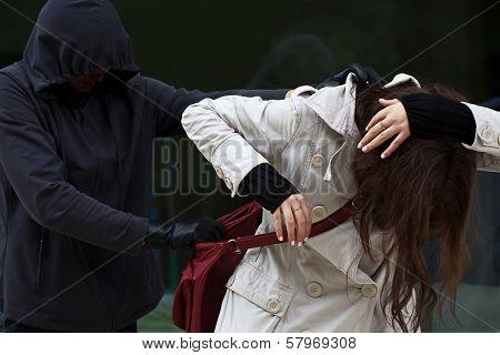 Woman In Danger