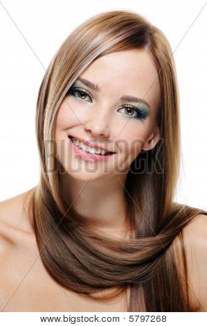 Female Portrait With Creative Hairstyle